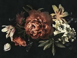 Digital <b>printing</b> wallpaper with floral pattern <b>DRAMA QUEEN</b> Walls ...
