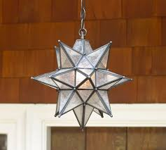 indoor outdoor star pendant light olivia wooden brown silver stainless steel pottery barn roll over cheap outdoor lighting fixtures