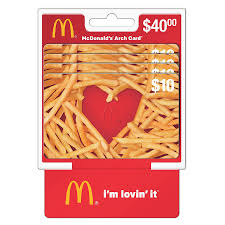 MCDONALD'S Gift Card $40 | Walgreens
