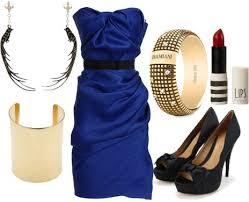 الازرق ازرقات الموضة السواريه فساتين باللون الأزرق images?q=tbn:ANd9GcT