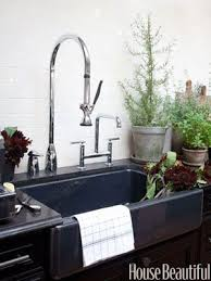 images kitchen sinks pinterest black one of the two kitchen sinks featured in house beautifuls quotkitchen