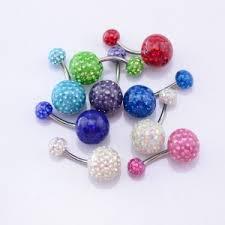 Купить <b>пирсинг в пупок c</b> поликристаллами с доставкой в ...