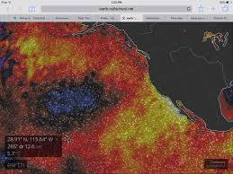 nasa monster el nino climate change means not normal winter extreme sea surface temperatures off the us west coast can generate a kind of atmospheric inertia in which high pressure systems tend to develop