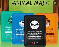 "SNP Animal Mask Одноразовые <b>маски</b> для лица ""животные"" Ю ..."