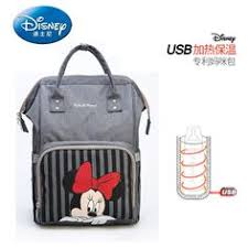 <b>Disney</b> Diaper <b>Bag USB Backpack Large</b> Capacity | Pañalera ...