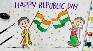 happy republic day colour drawing happy republic day colour drawing