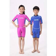 2.5mm Neoprene <b>Swimsuit Kids</b> Baby <b>Boys</b> Girls Wetsuits ...