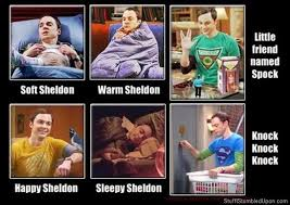 4 Different Versions of The Big Bang Theory Soft Kitty - Sharocity via Relatably.com