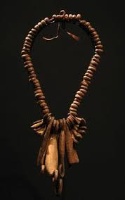 africa necklace from the kirdi people of northern cameroon or chad faux lions claws chad garden pod
