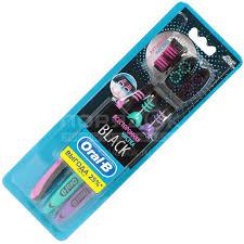 <b>Зубная щетка Oral-B Всесторонняя</b> чистка Black 40 средней ...