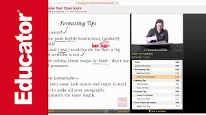 ap english strategies to raise your essay score ap english strategies to raise your essay score