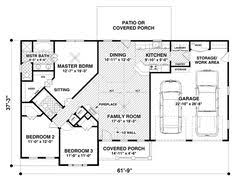 images about house plans on Pinterest   Floor Plans  House    Craftsman Style House Plan   Beds Baths Sq Ft Plan
