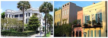 Charleston SC Real Estate   Homes and Property in CharlestonHomes and Rainbow Row Houses