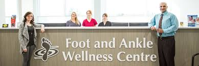 edmonton foot doctor team foot and ankle wellness centre group photo of the staff at the foot and ankle wellness centre