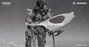 Seiko Prospex | <b>Keep Going</b> Forward