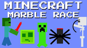 24 + 1 <b>Marble race</b> special : Minecraft Race - YouTube