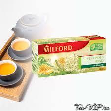 Чай травяной <b>Milford</b> Серебристая липа-мед 20 пакетиков | купить