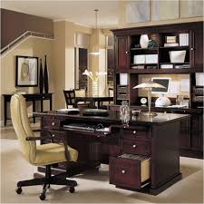 breathtaking interior home office design decor ideas with dark varnished wooden office cabinet table also light adorable office decorating ideas shape
