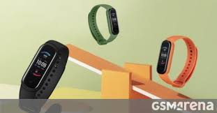 <b>Amazfit Band 5</b> announced with an AMOLED screen, blood oxygen ...