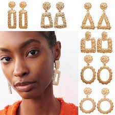 <b>2020 New Fashion</b> Earrings For Women European <b>Exaggerated</b> ...