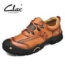 <b>CLAX Mens</b> Work <b>Shoes</b> Genuine Leather male Ankle <b>Boots</b> man ...
