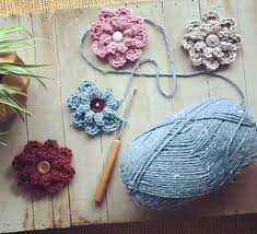 Autumn Berry Flower pattern by Jenny Dickens - Ravelry