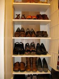 organize shoes closet