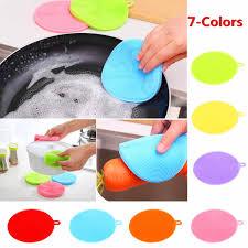 <b>10pcs</b> Kitchen Cleaning Brush Silicone <b>Dishwashing</b> Brushes ...