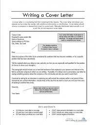 cover letter tips cover letter sample