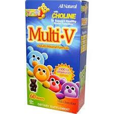 YumV's, <b>Multi V with Multi-Mineral</b> Formula, Milk Chocolate Flavor ...