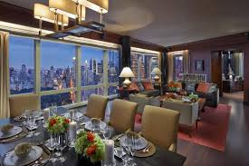 bathroom suite mandarin: mandarin oriental new york presidential suite