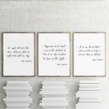 <b>Canvas Quotes</b> Decorative Posters & <b>Prints</b> for sale | eBay