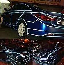 New Auto Car <b>Bike Body</b> Rim Sticker <b>Reflective</b> Tape Safety ...