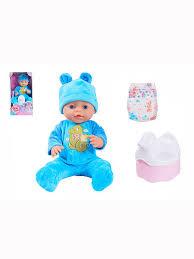 Кукла функциональная <b>Baby Doll</b>, с аксессуарами S-S 7770994 в ...