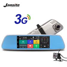 "<b>Jansite 3G</b> Car Camera <b>7</b>"" <b>Touch</b> screen Android 5.0 GPS car video ..."