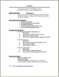 sample housekeeping resume objectives easy resume samples sample resume for housekeeping supervisor