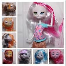 <b>5pcs Lot High Quality</b> Lanard Kitties Doll Head Mixed Colors Cat ...