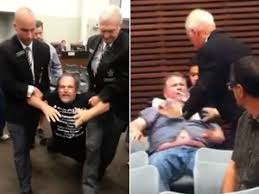 oshawa city council brawl leads to assault charges videos