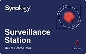 <b>Synology</b> IP Camera <b>License Pack</b> for 4 (CLP4) | Mushor Technology