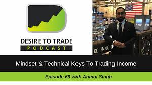 desire to trade podcast trading tips interviews anmol singh mindset technical keys to trading income
