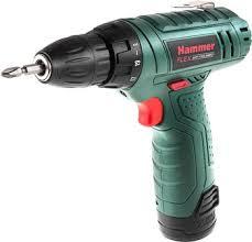Аккумуляторная <b>дрель Hammer</b> Flex <b>ACD 12 LE</b> купить в ...