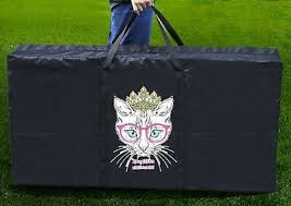 "Cornhole Board Carrying Case Bag Tote Bag 48.5"" x 24.5"" <b>Cat</b> ..."