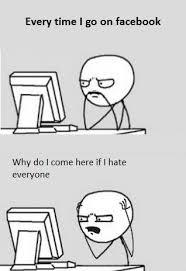 Meme Comics - Visiting Facebook via Relatably.com