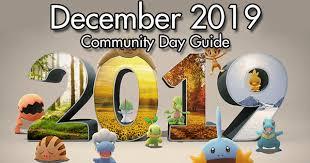 Community Day December 2019 Guide | Pokemon GO Wiki ...
