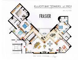 Designers in legal brawl over novelty floor plans of The Simpsons    Frasier Floor Plan