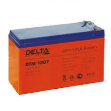 <b>Батарея</b> Delta DTM 1207, 12V 7Ah (<b>Battery</b> replacement <b>APC</b> rbc2 ...