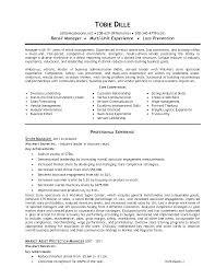 retail store manager resume sample resume templat store manager retail store management resume examples retail store management resume examples