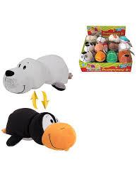 <b>Вывернушка</b> 6 видов 2 в 1, Пингвин-Моркой котик, 20х10х8см ...