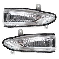 LED <b>Rear View Mirror</b> Signal <b>Light</b> For Nissan Teana Maxima Altima ...