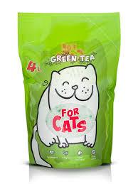 <b>Силикагелевый наполнитель For Cats</b> с ароматом зеленого чая ...